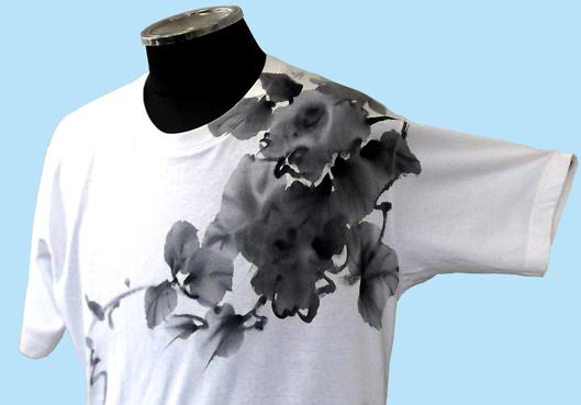 Tシャツに書ける