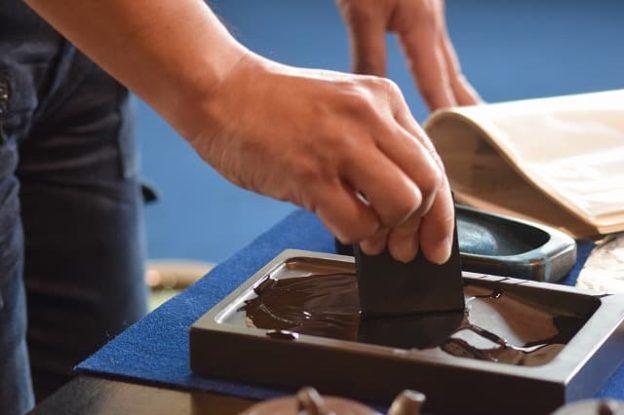 墨の磨り方