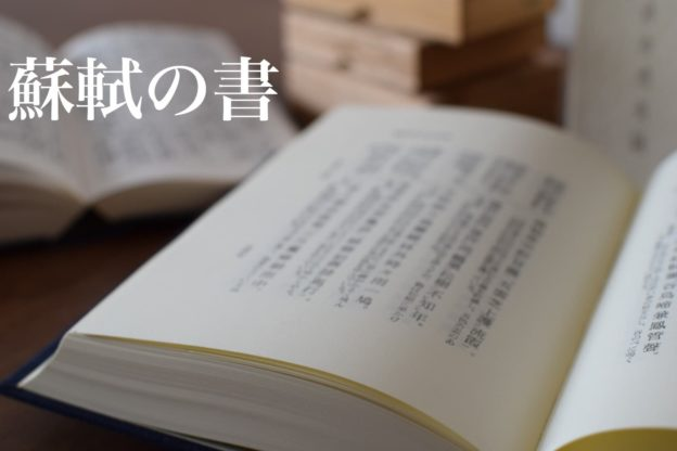 書道家 蘇東坡・蘇軾