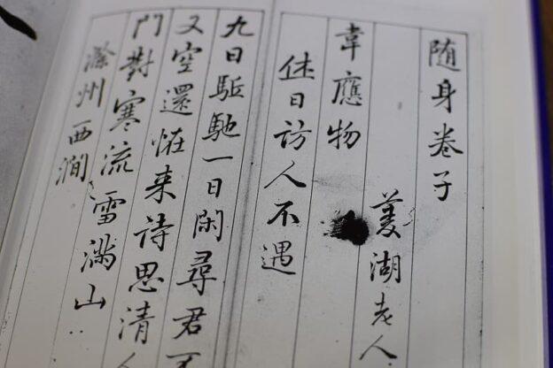 巻菱湖の書